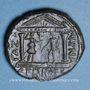 Coins Hadrien (117-138). Bronze. Gaza, an 4 de la visite 193 = 132/3AD.