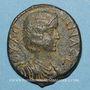 Coins Julia Domna, épouse de Septime Sévère († 217). Bronze. Hadrianopolis (Phrygie)