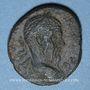 Coins Macrin (217-218). Bronze. 24,7-27,27 mm. Néapolis (Naplouse, Samarie)
