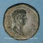 Coins Néron, césar sous Claude (50-54). Bronze. Thyatire
