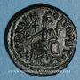 Coins Septime Sévère (193-211). Bronze. Marcianopolis (Moésie). R/: Cybèle