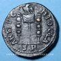 Coins Volusien (251-253). Bronze. 23 mm. Antioche. R/: Vexillum entre deux enseignes