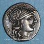 Coins République romaine. C. Minucius Augurinus (vers 135 av. J-C). Denier