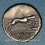Coins République romaine. C. Postumius (vers 74 av. J-C). Denier