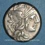 Coins République romaine. C. Renius (vers 138 av. J-C). Denier