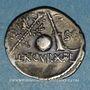 Coins République romaine. Cn. Lentulus (vers 76-75 av J-C). Denier