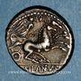 Coins République romaine. D. Silanus L. f. (vers 91 av. J-C). Denier
