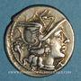 Coins République romaine. L. Cupiennius (vers 147 av. J-C). Denier
