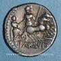 Coins République romaine. L. Farsulei Mensor (vers 75 av. J-C). Denier