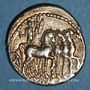 Coins République romaine. M. Acilius M. f. (vers 130 av. J-C). Denier