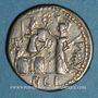 Coins République romaine. M. Furius L. f. Philus (vers 119 av. J-C). Denier