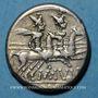 Coins République romaine. M. Junius Silanus (vers 145 av. J-C). Denier