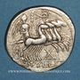 Coins République romaine. M. Tullius (vers 120 av. J-C). Denier