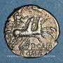 Coins République romaine. Publius Calpurnius (vers 133 av. J-C). Denier