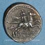 Coins République romaine. Q. Philippus (vers 129 av. J-C). Denier