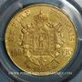 Coins 2e empire (1852-1870). 100 francs, Napoléon III, tête laurée 1868BB. (PTL 900‰. 32,25 g). 1982 ex !