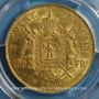 Coins 2e empire (1852-1870). 100 francs Napoléon III tête laurée 1869BB Strasbourg.  (PTL 900‰. 32,25 g)