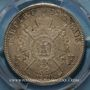 Coins 2e empire (1852-1870). 5 francs tête laurée 1870BB. Strasbourg