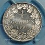 Coins Bade. Frédéric I, grand-duc (1856-1907). 1/2 gulden 1861
