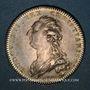 Coins Académie de Marine. Jeton argent 1778