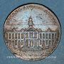 Coins Anjou. Mairie d'Angers. Fr Raymbauld de la Foucherie. Jeton cuivre 1701