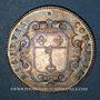 Coins Anjou. Ville d'Angers. Louis XIV. Jeton argent n. d.