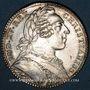 Coins Anjou. Ville d'Angers. Louis XV. Jeton argent