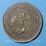 Coins Apt (84). Bertrand frères, négociants de chocolats. 1862. Jeton publicitaire