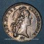 Coins Aunis. Chambre de Commerce de la Rochelle. Louis XV. Jeton argent