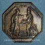 Coins Banque de France. Jeton argent, an VIII