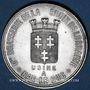 Coins Bar-le-Duc (55). Brasserie de la Croix de Lorraine. Jeton publicitaire aluminium