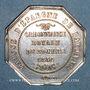 Coins Bayonne. Caisse d'Epargne. Jeton argent 1834