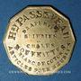 Coins Bordeaux (33). Maison François David (20 rue St Rémy) ; Prix Fixe, H. Passereau...Jeton publicitaire
