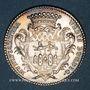 Coins Bordeaux. Série Municipale. Louis XV. Jeton argent