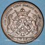 Coins Bourgogne. Mairie de Dijon. E. Baudinet. Jeton cuivre 1716