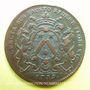 Coins Bourgogne. Mairie de Dijon. E. Baudinet. Jeton cuivre 1719