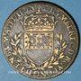Coins Bourgogne. Mairie de Dijon. E. Humbert. Jeton cuivre 1628