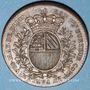 Coins Bourgogne. Mairie de Dijon. J. Burteur. Jeton cuivre 1739