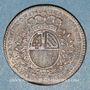 Coins Bourgogne. Mairie de Dijon. J. Burteur. Jeton cuivre 1748