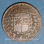 Coins Bourgogne. Mairie de Dijon. Jacques de Frasans. Jeton cuivre 1662