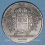 Coins Bourgogne. Mairie de Dijon. M. Baudinet. Jeton cuivre 1727