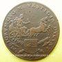 Coins Bourgogne. Mairie de Dijon. P. Monin. Jeton cuivre 1676