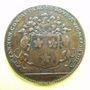 Coins Bourgogne. Mairie de Dijon. Ph. Jannon. Jeton cuivre 1693