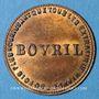 Coins Bovril. Jeton publicitaire