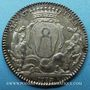 Coins Bretagne. Mairie de Nantes. Gelée de Premion. Jeton argent 1776