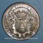 Coins Caen. Caisse d'Epargne. Jeton argent n.d