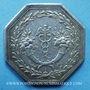 Coins Caisse d'Escompte. Jeton argent 1776