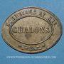 Coins Chalon-sur-Saône (71). Schneider et Cie. Jeton publicitaire