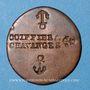 Coins Chavanges (10). Coiffeur. Jeton publicitaire, cuivre, 18,7 mm