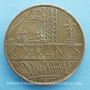 Coins Chic. FM 89.7. Publicité sur pièce de 10 francs